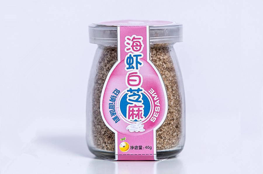 海虾白芝麻粉