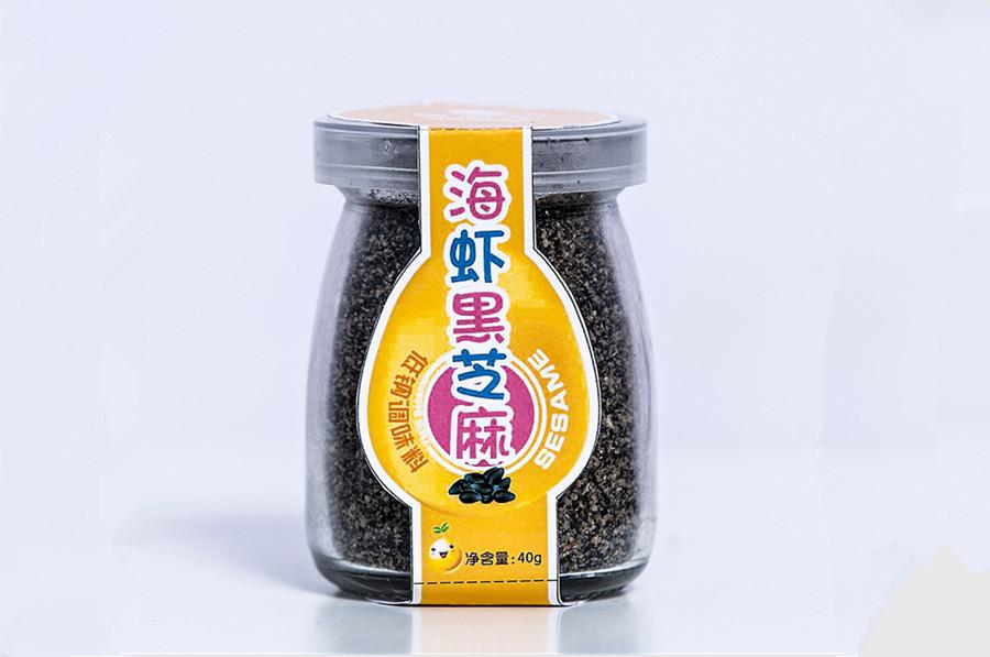 海虾黑芝麻粉