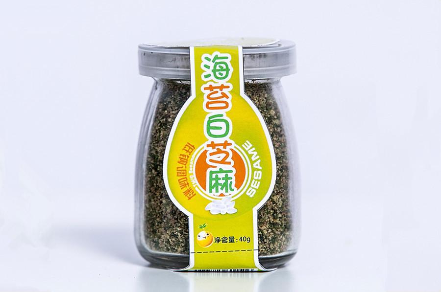 海苔白芝麻粉
