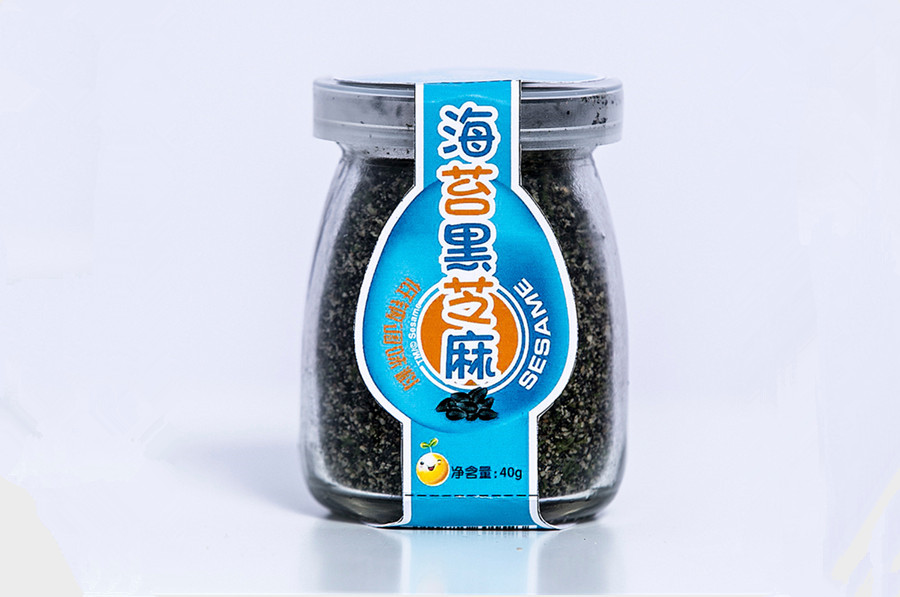 海苔黑芝麻粉